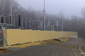 Power Substation ConEd Fence